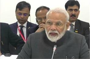 terrorism is a threat to the whole world it needs to be stopped pm modi