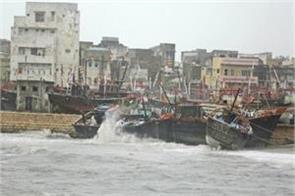 cyclone vayu towards oman heavy rain and wind remains in gujarat