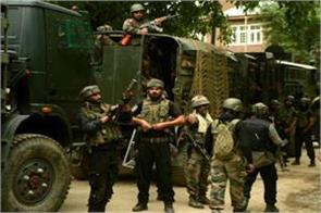 j k 4 terrorists stacked by security forces in pulwama