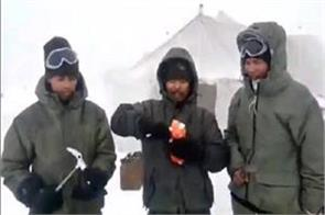 life of the soldiers in siachen video viral