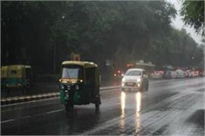 delhiites get relief from heat rain even today
