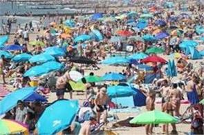 britain witnesses hottest day of this year on saturday