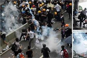violence in hong kong against china extradition bill
