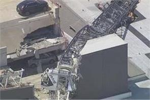 crane collapses during storm in dallas killing 1 woman