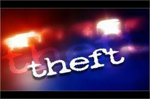 lakhs worth of jewellery cash stolen