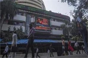 open market share in green mark up 19 points in sensex