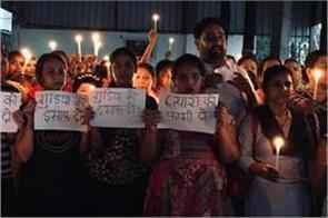 anger at the murder of child in aligarh candle march extracted in dardwa