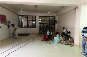 shooting of punjabi film in hospital patients upset