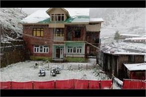 snowfall in kashmir in month of june