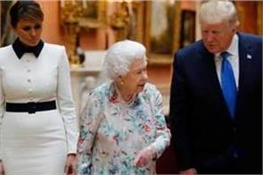 trump forgotten gift given to british queen trolling on social media