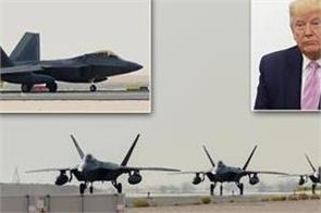 us sends f 22 fighters to middle east amid tensions with iran