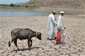 half of the situation like drought in india