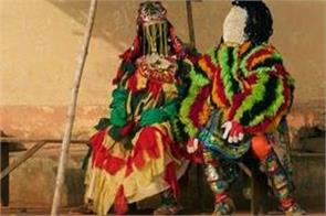 egungun  secret society who locals believe are  living ghosts