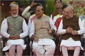 rajnath singh included six committees in modi government