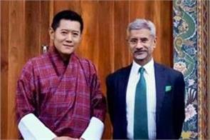 jaishankar highlights india s neighbourhood first policy during bhutan trip