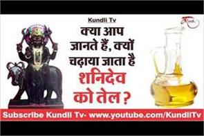 do you know why is shani devoted oil