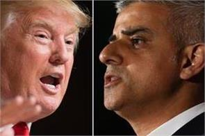 donald trump called london mayor nasty on twitter