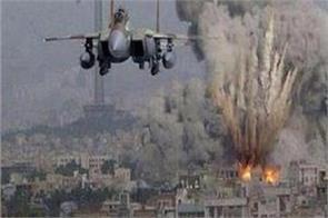 10 terrorists stack in air strikes in afghanistan