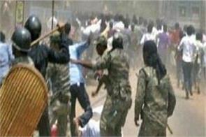 violence affected bhatpada again several wounded