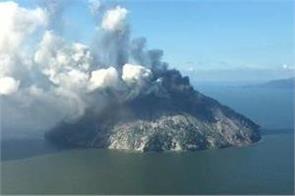 ulawun volcano  major subplinian eruption ash to at least 19km