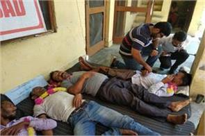 phe employees on hunger strike in bad health condition