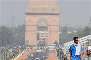 record breaking summer in delhi mercury hit 48