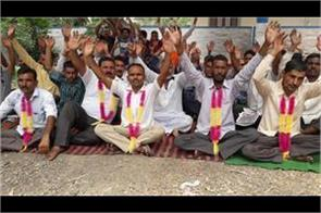 phe workers started hunger strike in kathua