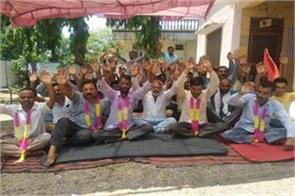 hunger strike of phe workers continued