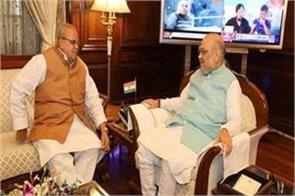 amit shah active on kashmir issue meet governor soon after assuming office