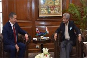 vice prime minister of russia meets foreign minister jaishankar