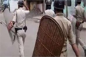 west bengal bjp police firing injured tmc