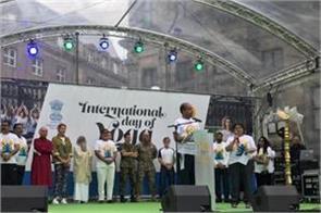 yoga day celebration celebrated in netherlands