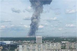 russian chemical plant blast 38 people die