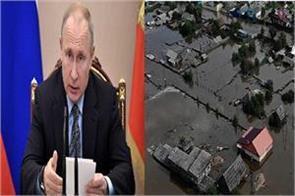 putin orders to send army to flood affected irkutsk region