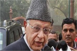 farooq abdullah s said merge of kashmir in india is also temporary