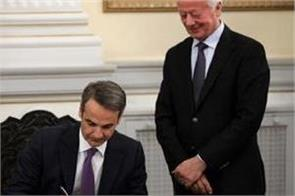 mitsawakis became the new prime minister of greece
