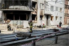 gas explosion in poland three killed four wounded