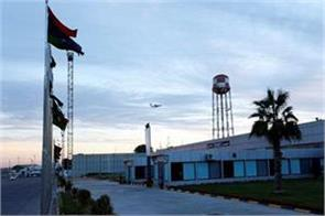 tripoli airport suspended after flights