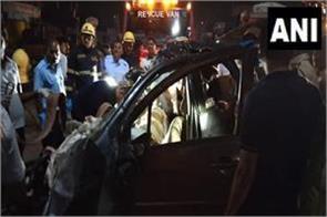 maharashtra truck and car hit tremendously killing 9 people