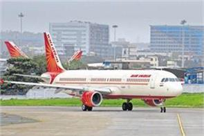 air india flight technical deterioration