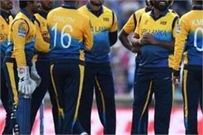 sri lanka team announcement for ban odi