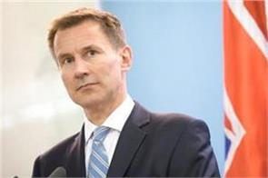 uk will not join us in war against iran jeremy hunt