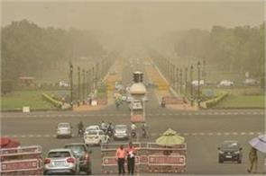 dust storm in next 24 hours in some parts of delhi rajasthan