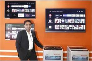 micromax launches android tv lineup and washing machines in india