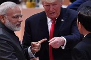 pm modi and trump s friendship video goes viral