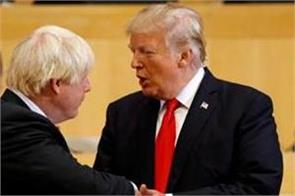 trump johnson discuss uk s future after brexit over phone