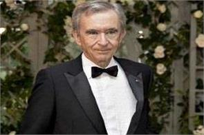 bernard arnott the second richest person in the world