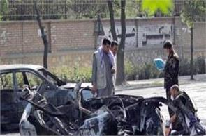 blast near kabul university kills 6 injures 27