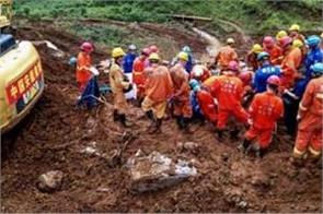 china landslide death toll rises to 20