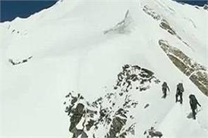 itbp releases last moments video of eight climbers